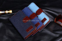For Samsung Galaxy Note 3 N900 Stand Jeans Wallet Leather Case Cover