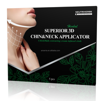 New Cosmetic Chinese Slim Patch Natural Herbal 3D Technology Reduce Double Chin Patch New Cosmetic