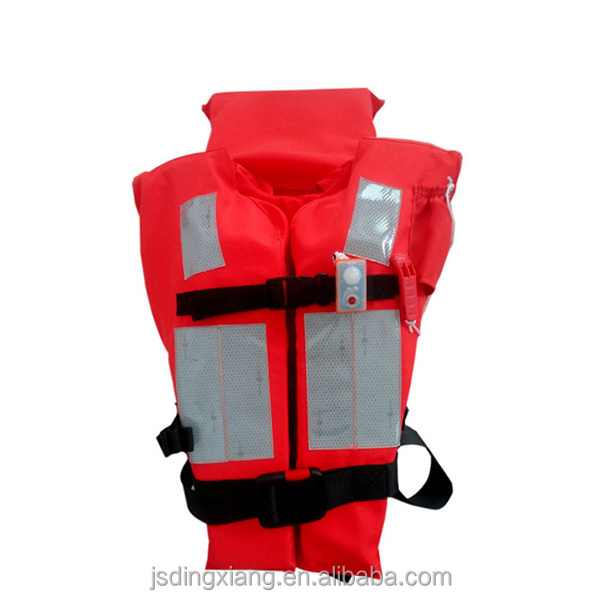 SOLAS approved marine high quality fabric life jacket