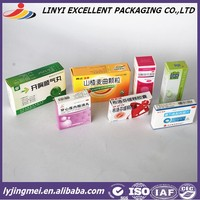 hot sale small tablet and pill paper box