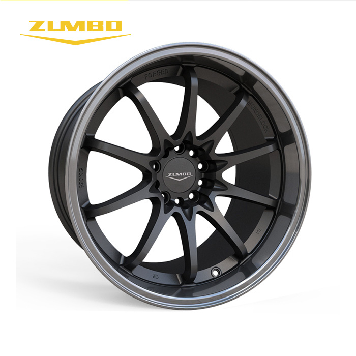 "Zumbo-Z91 Black lip machined 18"" alloy wheels 4x4 Durable Standard Tricycle Aluminum Sports Alloy Wheel Rim Wheel Rims"