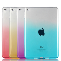factory price multi color promotional silicone rubber new pu tablet case for ipad mini 2/3/4