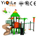 2017 the latest plastic swing and slide set fashionable outdoor kids playground cheap outdoor play