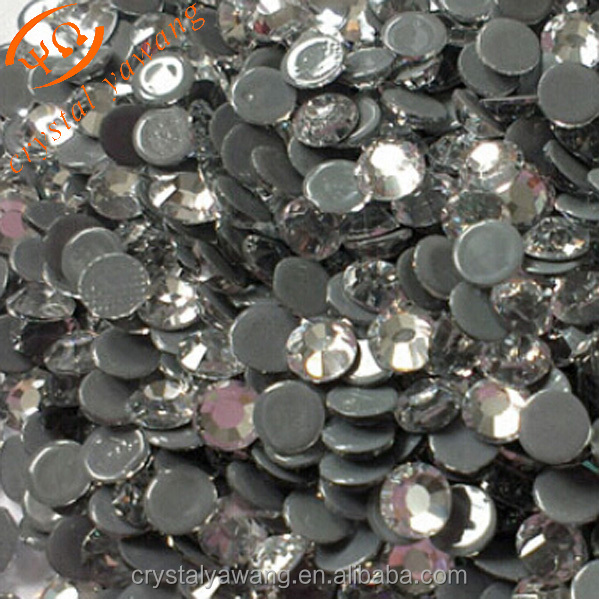 wholesales grade AAA strass iron on hot fix rhinestone for garment