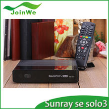Sunray se solo 3 Full HD Enigma 2 decoder 1GB DRAM & 256MB FLASH Satellite TV Receiver