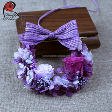 Hot sell preserved flowers wedding garlands