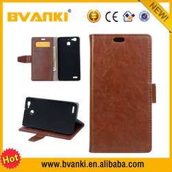 parts and accessories retro book leather phone case for huawei enjoy5s