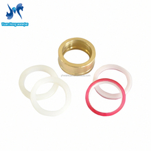 High pressure seals for water jet intensifier pump abrasive cutting machine
