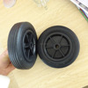 6inch solid rubber castor wheels / small caster wheels