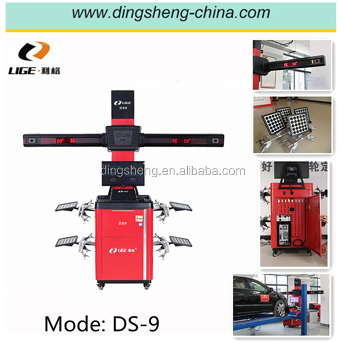 3D wheel alignment system gauge the front wheels DS-9