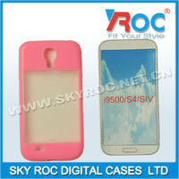 Frosted translucent design case cover for Samsung S IV i9500 galaxy s4 phone case