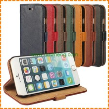 Retro Side Flip Wallet PU Leather Case Cover for IPhone 6