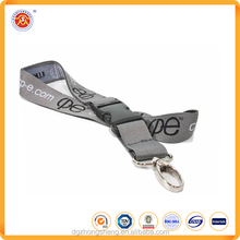 Customized Advertising Polyester jacquard Lanyard for promotion