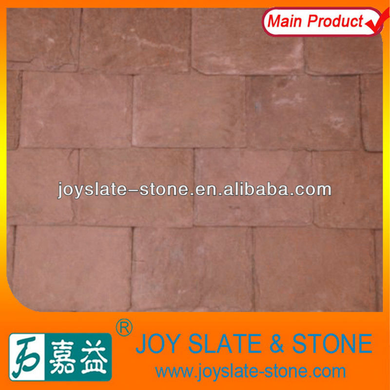 Chinese Natural Purple Slate Roof Tile