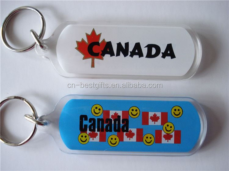 Latest Attractive style clear plastic acrylic key chains manufacturer from manufacturer