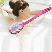 new Long handle shower back brush / Shower Massage Brush / Curved Back and Body Brush