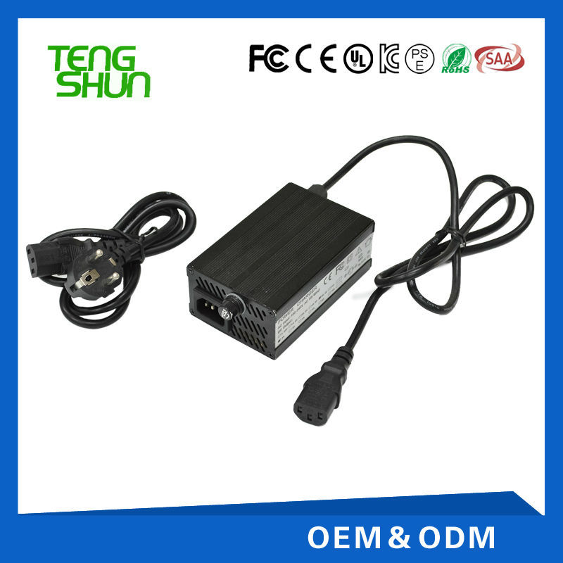 TengShun Brand 48v 3a aluminum battery charger for 48v 20ah battery charger