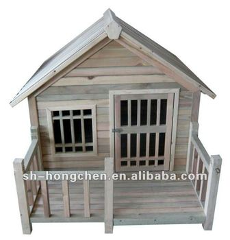 Wooden pets house