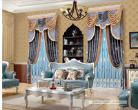 2016 latest Designs Velvet curtain for christmas/living room/saloon/auditorio