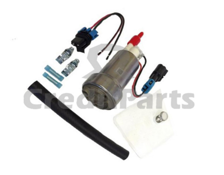 High <strong>Performance</strong> F90000267 Walbro 465LPH E85 <strong>Performance</strong> <strong>Racing</strong> Fuel Pump With Install Kit