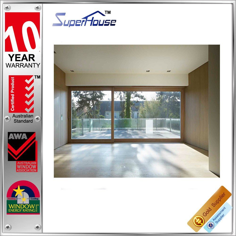 Australia Standard AS2047 10 years warranty soundproof interior sliding door