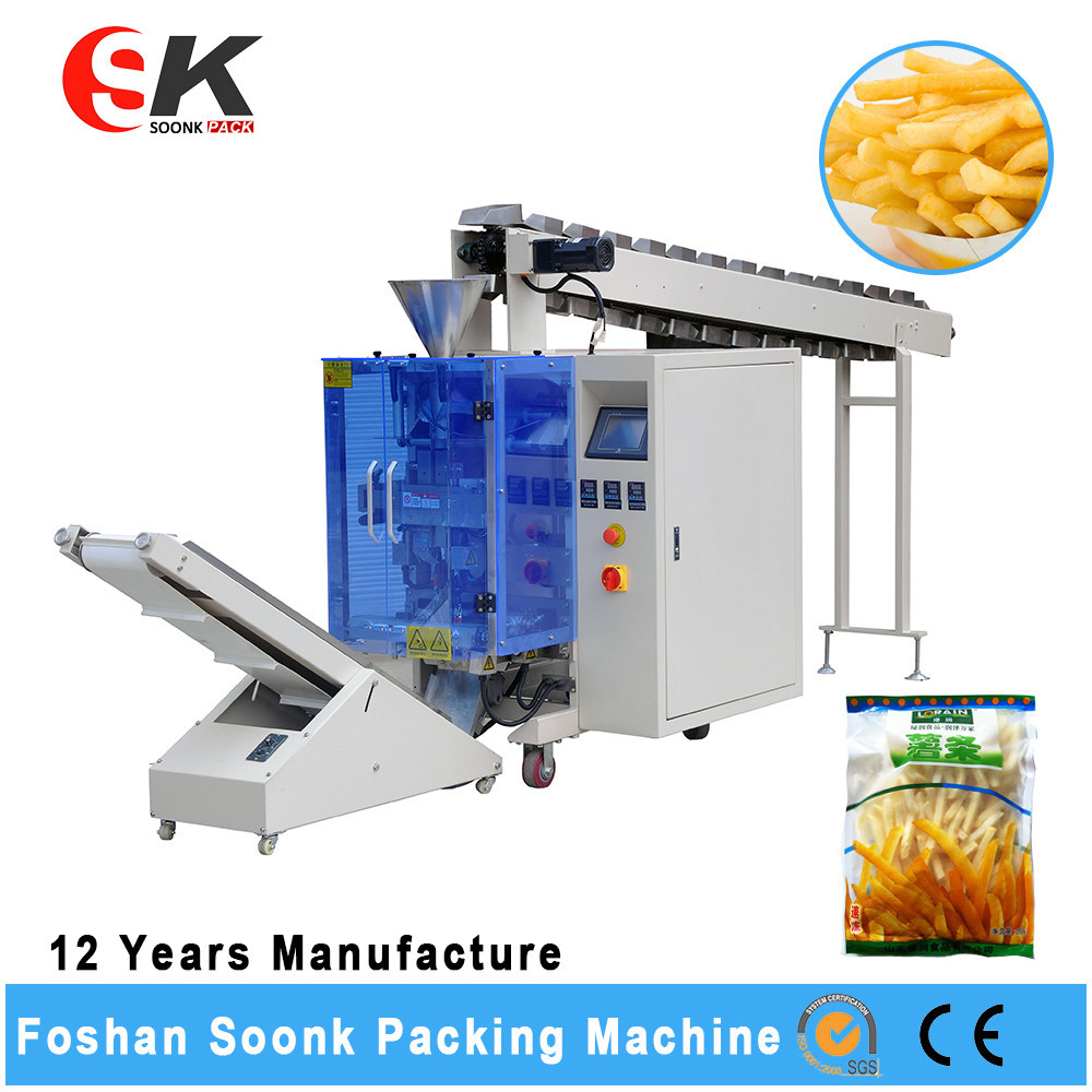 Snacks Sugar Sachet Peanut Packing Machine