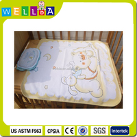 Custom baby diaper print washable disposable changing mat