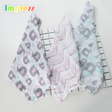 Face washer 100% cotton washcloth 70x70cm baby face muslin towel wholesale