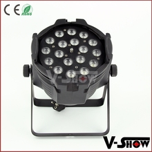 China stage zoom light 18x10w RGBW quad 4in1 leds mini zoom par uplighting for event