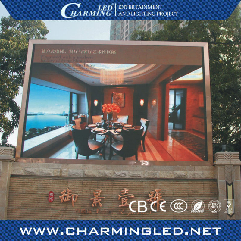 P10 outdoor led tv advertising screen billboard
