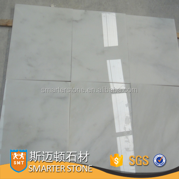 White marble Biaco Pinta Jade marble tiles for wall decoration