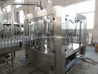Automatic 3 in 1 Washing Filling Capping Machine / Bottle Line