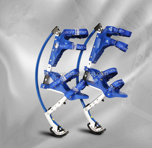Cool Jumping Bounce Shoes Aluminium Alloy Fiberglass Spring Jumping Stilts For Adults/Kids
