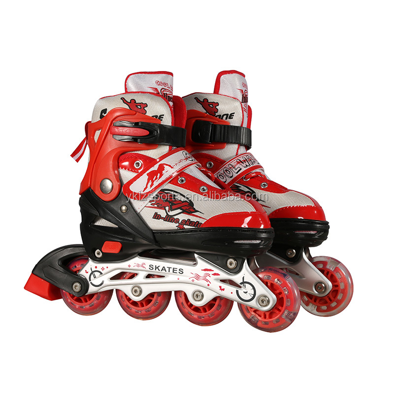 Colorful inline skate land roller skate for kids with high quality