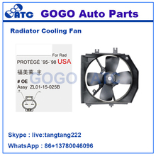 Radiator A/C Cooling Fan for PROTEGe -95-*98 USA OEM ZL01-15-025B