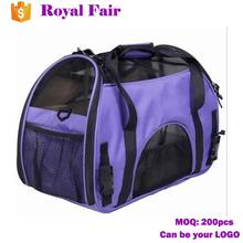 Portable Cross Body Ventilated Pet Bag For Cat Dog