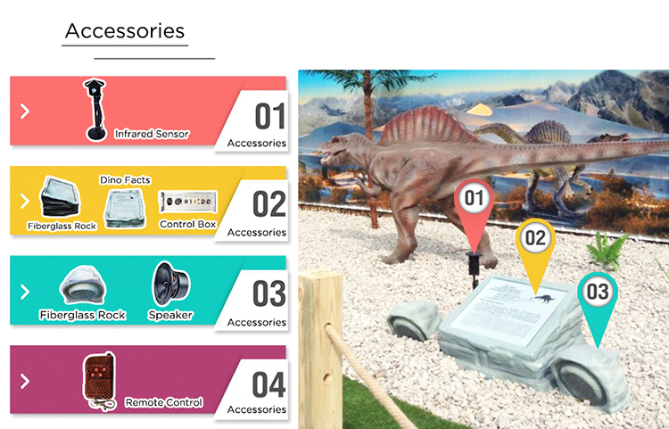 Life Size Robotic Stegosaurus For Theme Park