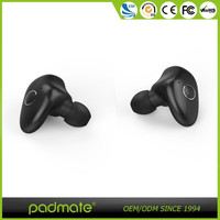 New products 2016 mobile phone accessories Earphones 4.0 true wireless earbuds with charging station