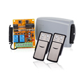 Sliding Gate Door 12V-24V AC/DC RF Transmitter and Receiver for Garage Hcs301 transmitter 402PC-42.0