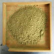Hot selling Chinese sulphur green tea powder with light sweet flavored