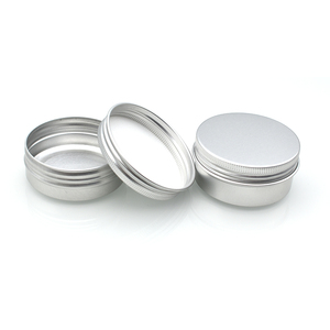 15g 30g 50ml 60ml 100ml empty cosmetic cream aluminium jar cans for skin care cream