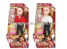 Kids vogue american girl doll with make up toy
