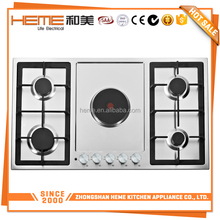 Multiple cooktops 5 Burners Gas electric combination cookers (PGE9050S-A1CI)