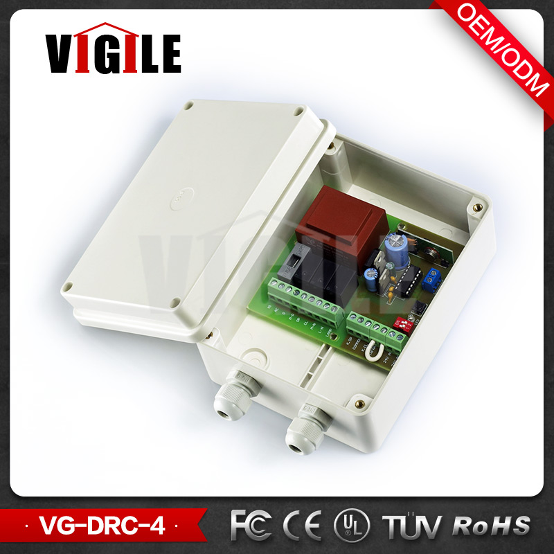 Rolling Shutter Door Remote Switch 434.92MHz, Control Board for 35mm/45mm/55mm/59mm Diameter Tubular Motor