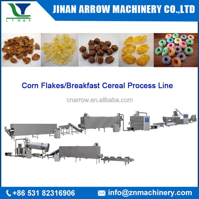 corn flakes Breakfast Cereals crispy rice machinery