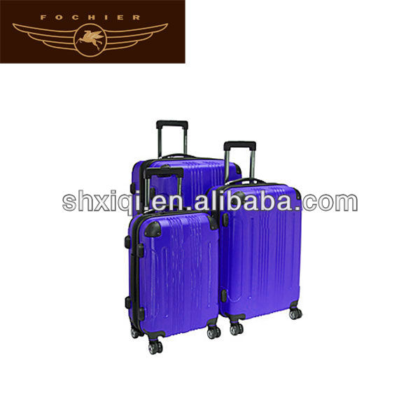 blue color abs 2014 carry luggage men travel luggage