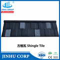The new stype -Aluminum coating roof tiles and stone chip coating