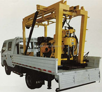 HZ-200GT Truck Mounted Small Water Well Drilling Rig