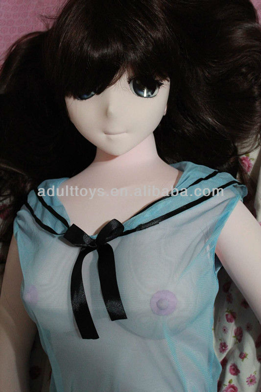 Cartoon cloth fabric solid sex doll with skeleton inside for men