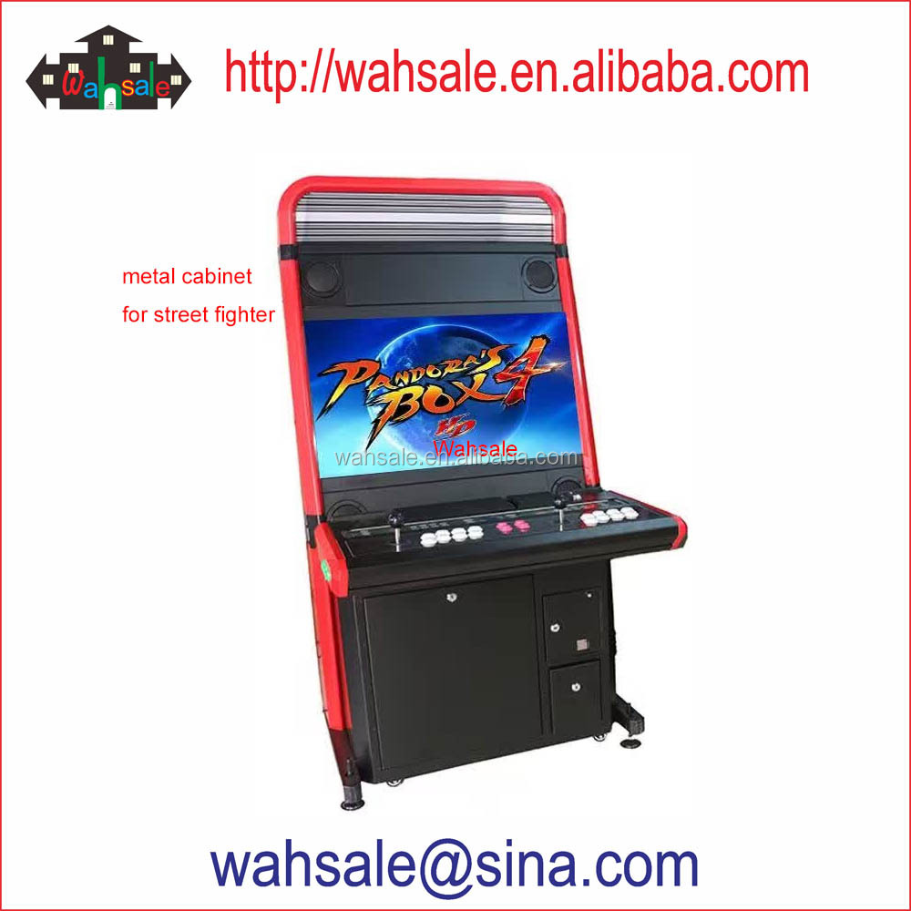 "32"" screen red color arcade multi game machine with 645 games in <strong>1</strong>"